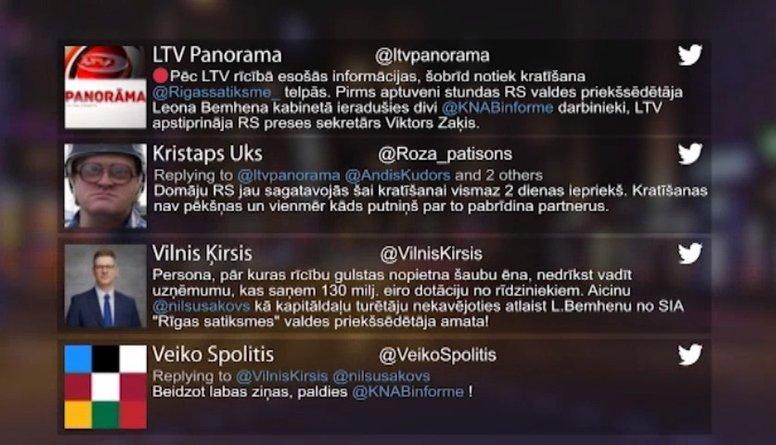 """Tvitersāga: Kratīšana """"Rīgas Satiksmē"""""""