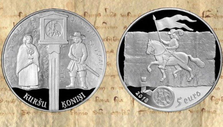 Latvijas Banka izlaidīs kuršu ķoniņiem veltītu kolekcijas monētu
