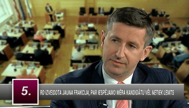 """Dombrovskis: Sarunas ar """"Saskaņas"""" nodevējiem nav iespējamas"""