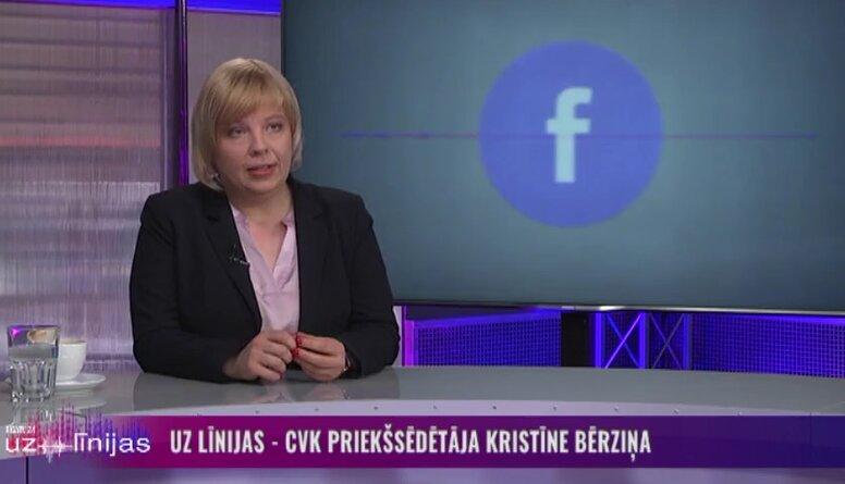 Bērziņa: Tuvākajos gados tiks izveidots tiešsaistes vēlētāju reģistrs