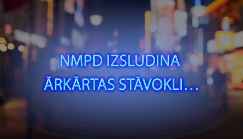Tvitersāga: NMPD izsludina ārkārtas stāvokli..