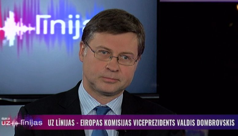 """EP vēlēšanās """"Jaunā Vienotība"""" virzīs Valdi Dombrovski darbam Eiropas Komisijā"""