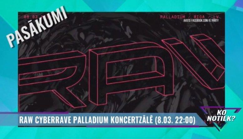 Raw Cyberrave  Palladium koncerzālē
