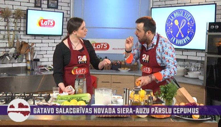 Pavāršova viešņa māca Roberto Salacgrīvas dialektu!