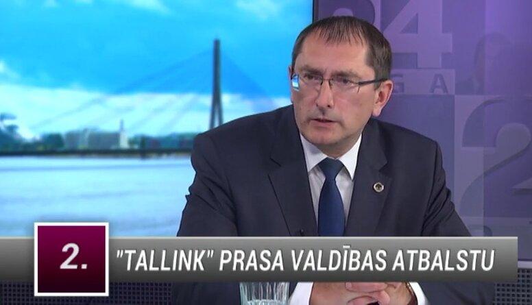 """Satiksmes ministrs par """"Tallink"""" pieprasīto valdības atbalstu"""