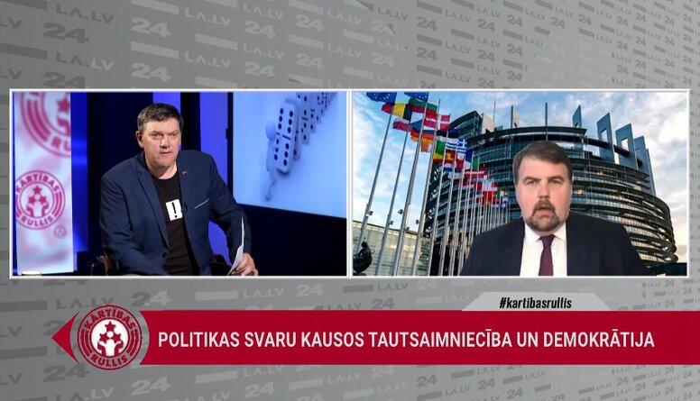Ijabs: Ap 20. jūniju varētu sagaidīt Eiropas atbildi Baltkrievijai