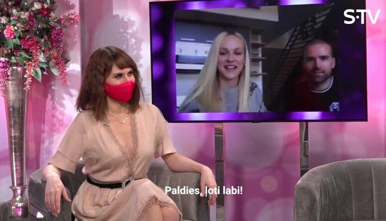 Kā latviešu modele Ginta Lapiņa iepazinās ar savu draugu Braienu?