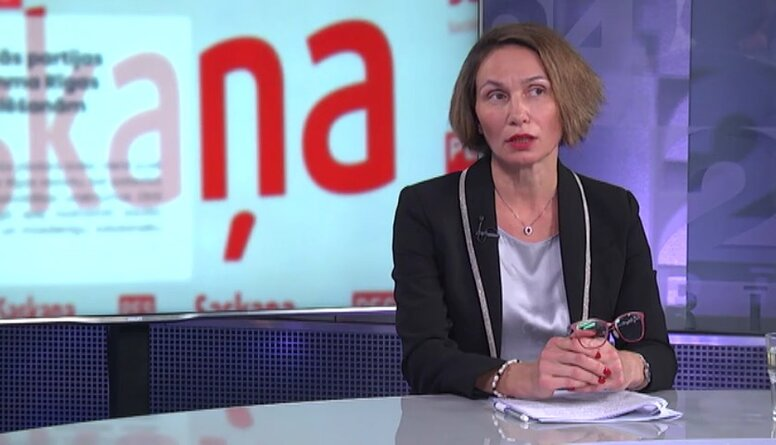"""Ļubova Švecova par izslēgšanu no partijas """"Saskaņa"""""""