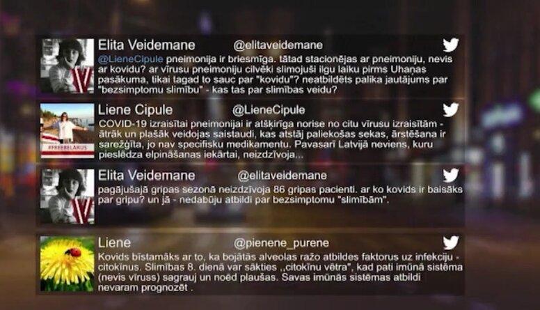 Tvitersāga: Covid-19 pandēmija