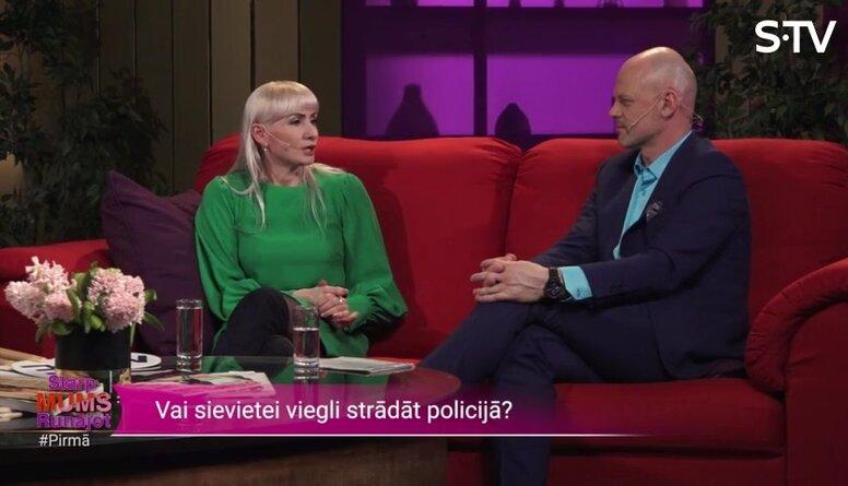 Ļena Keine-Kaštaļjana par sievieti policijā