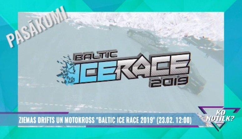 """Ziemas drifts un motokross """"Baltic Ice Race 2019"""""""