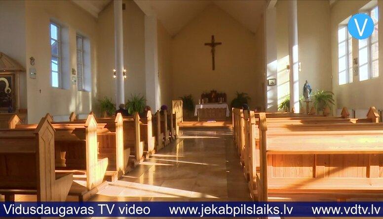 Krustpils katoļu baznīca