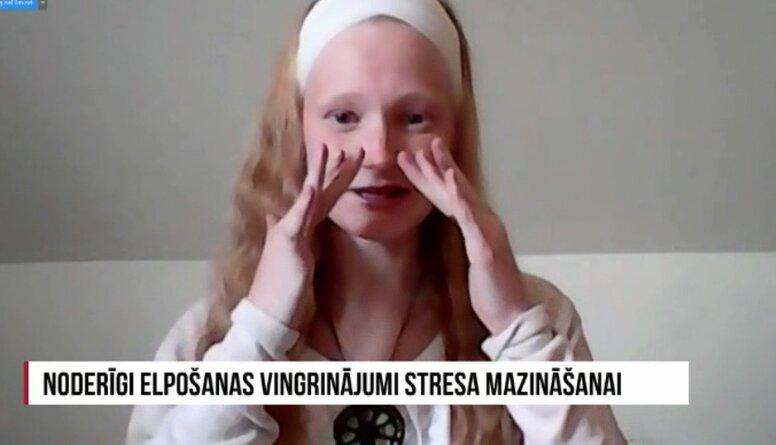 Noderīgi elpošanas vingrinājumi stresa mazināšanai