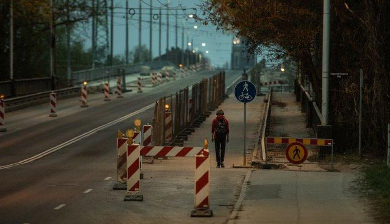 Viedoklis: Jāizveido alternatīva Deglava tiltam - pagaidu pārbrauktuve