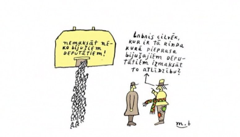 Ielūkojies: Latvijas un Lielbritānijas politiskie notikumi karikatūrās!
