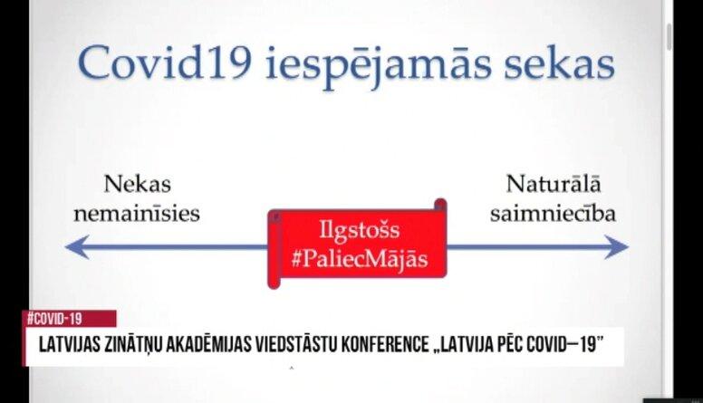 """Gunta Bārzdiņa lekcija LZA viedstāstu konferencē """"Latvija pēc Covid-19"""""""