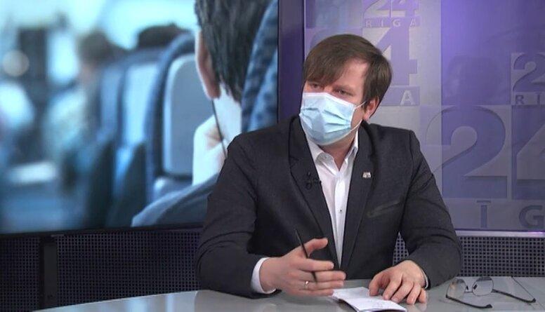 Epidemioloģiskā drošība sabiedriskajā transportā Rīgā