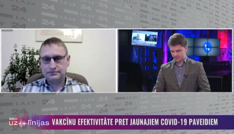 Jānis Kloviņš par Covid-19 Ugandas paveida izplatīšanos Latvijā