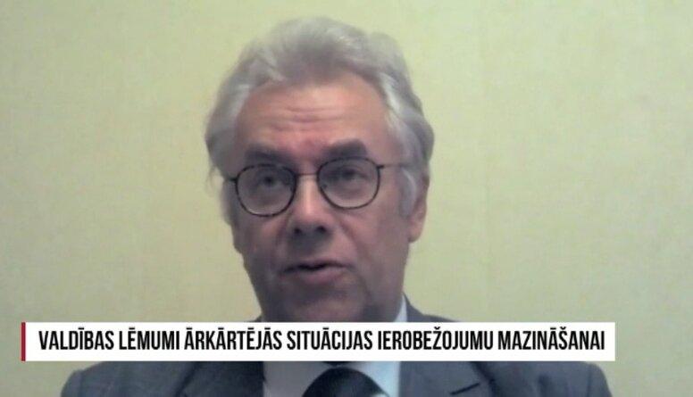 Perevoščikovs: Mūsu uzvara pār koronavīrusu šobrīd ir tikai pagaidu uzvara