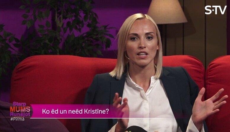 Ko Kristīne Virsnīte domā par baltmaizes ēšanu?