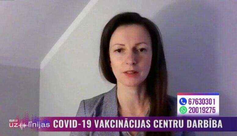 Strazda: Notiek intensīvs darbs, lai Lieldienās varētu pārbaudīt, kā notiek liela mēroga vakcinācija