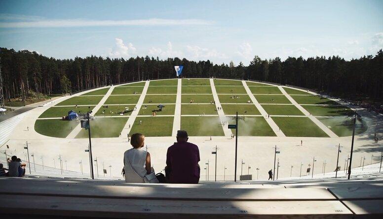 Rīgas svētku ietvaros aizvadīts Lielais pikniks Mežaparkā