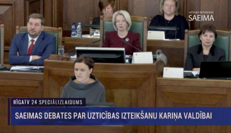 Speciālizlaidums: Saeimas sēde par uzticības izteikšanu Kariņa valdībai  2. daļa