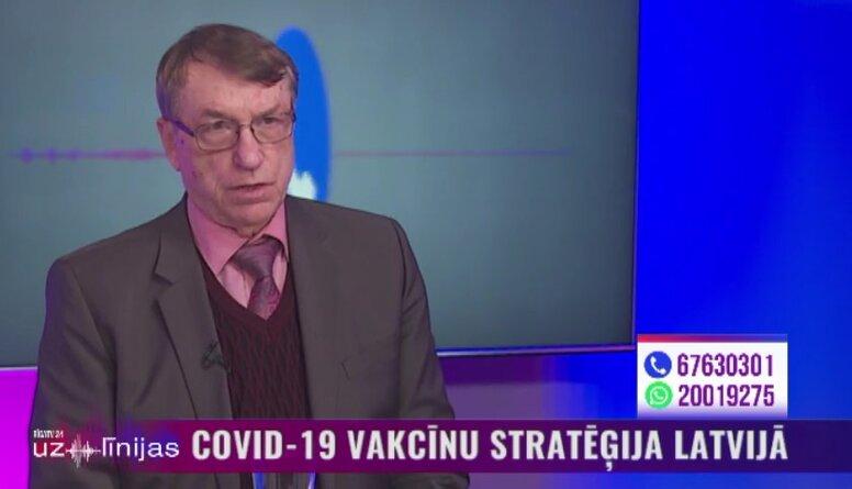 Kalviņš: Latvijas Covid-19 apkarošanas stratēģija ir nepilnīga