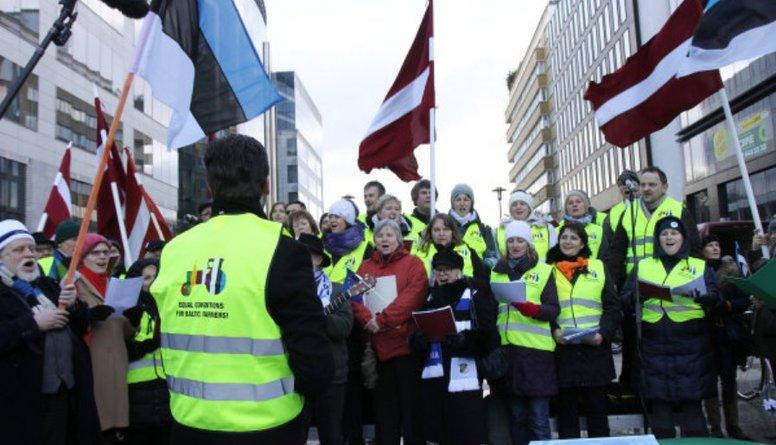 Ap 200 Baltijas lauksaimnieku vienojušies protestam Briselē