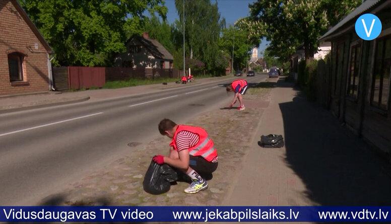 Skolēniem sākas vasaras darbs
