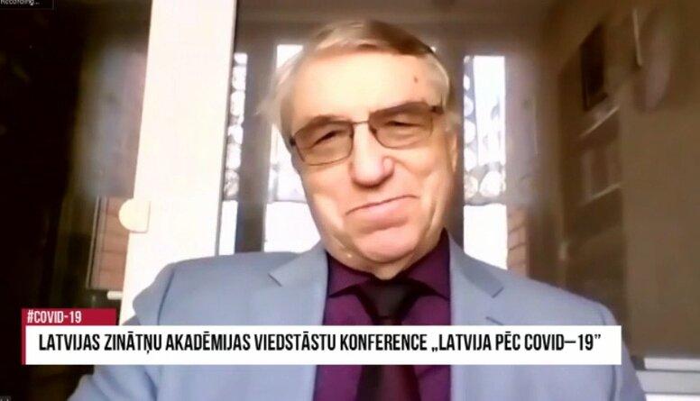"""Ivara Kalviņa lekcija LZA viedstāstu konferencē """"Latvija pēc Covid-19"""""""