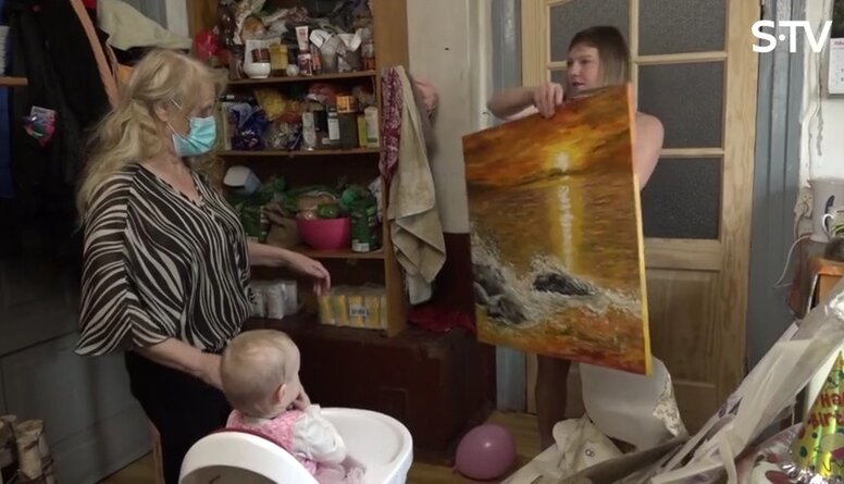 Magone izrāda gleznas