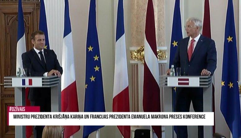 Speciālizlaidums: Francijas prezidenta vizītes vēsturiskā nozīme Latvijai