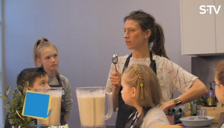 Veselīgi našķi bērniem: mandeļu trifeles un kokteilis