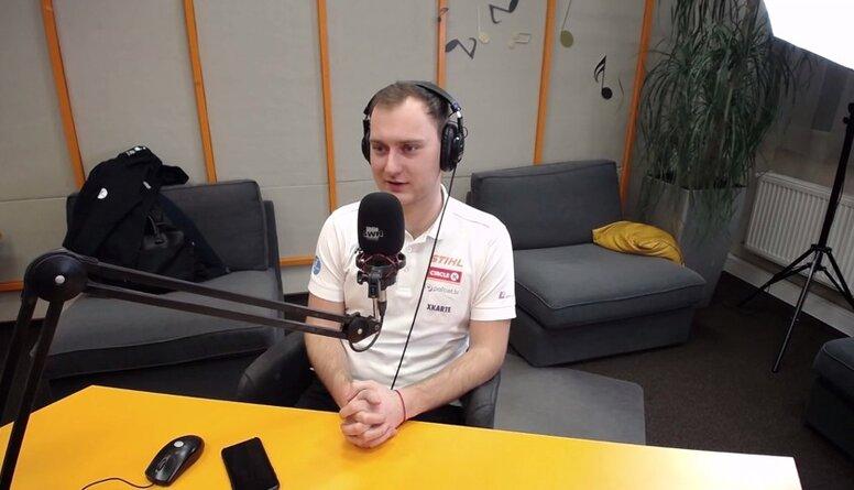 VAKARA SPORTA STUNDA: Studijā viesojas Reinis Nitišs