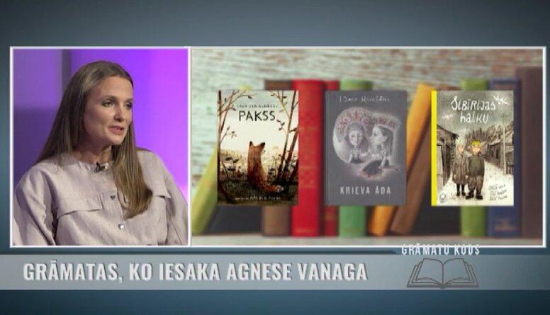 Grāmatas, ko iesaka rakstniece Agnese Vanaga