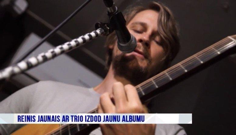 Reinis Jaunais ar Trio izdod jaunu albumu