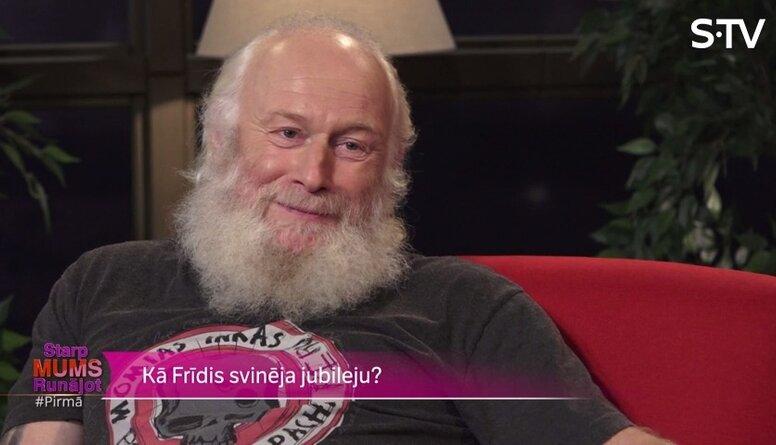 Ar kādu vērienu Frīdis 60 gadu jubileju svinēja