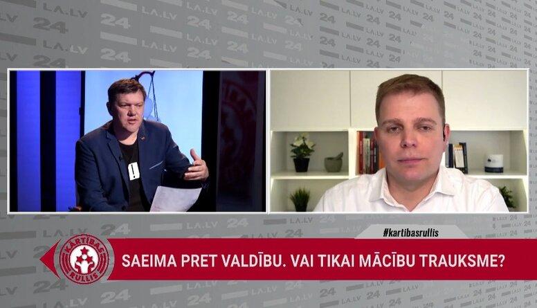 Feldmans: Saeima ikdienā vairāk komunicē ar sabiedrību un labāk izprot vajadzības