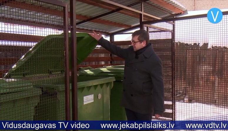 Līvānos pozitīva pieredze, ieviešot slēgtā tipa atkritumu laukumu