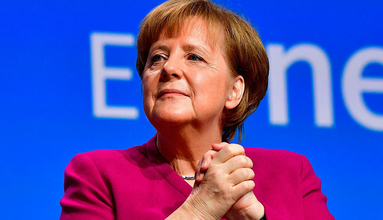 Merkele vairs nekandidēs kancleres amatam: komentē Rinkēvičs