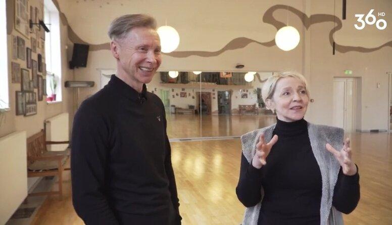 Kā izskatās Valērija un Agitas Mironovu deju studija?