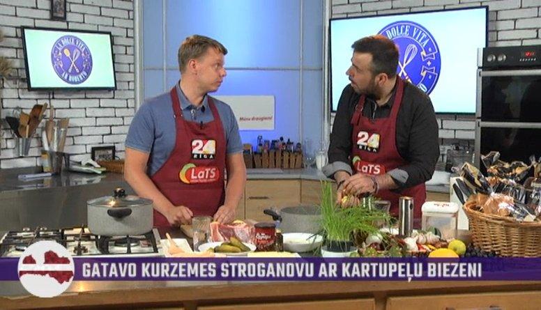 Arī pavārmākslā jāsniedzas pēc perfekcijas, stāsta Kaspars no Saldus novada