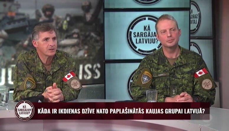 Kāda ir ārzemju karavīru ikdiena Latvijā?