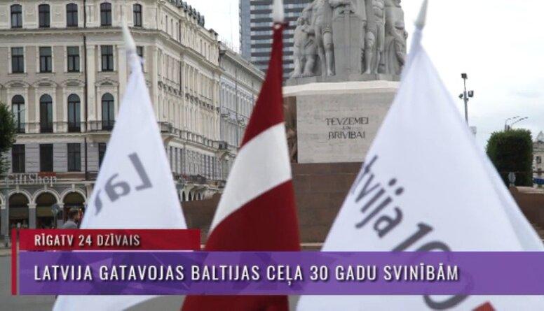 Speciālizlaidums: Latvija gatavojas Baltijas ceļa 30 gadu svinībām