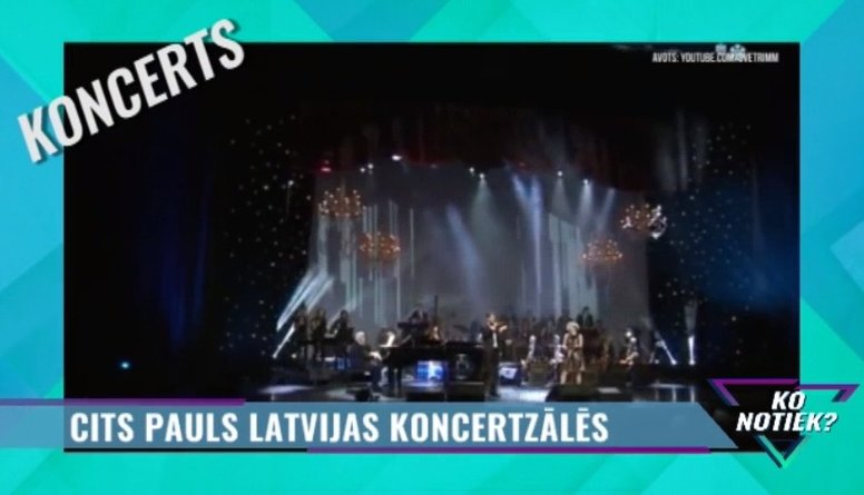 """Nenokavē! """"Cits Pauls"""" Latvijas koncertzālēs"""