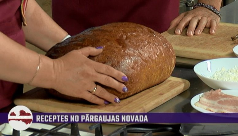 Uzzini, cik ilgi jāgatavo 3 kg smags maizes klaips!