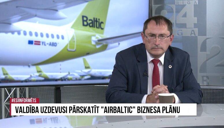 Tālis Linkaits par valsts atbalstu airBaltic