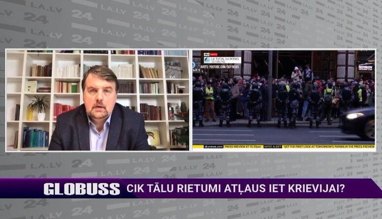Ijabs: Krievijas režīms šobrīd nodarbojas ar brutālu skrūvju piegriešanu