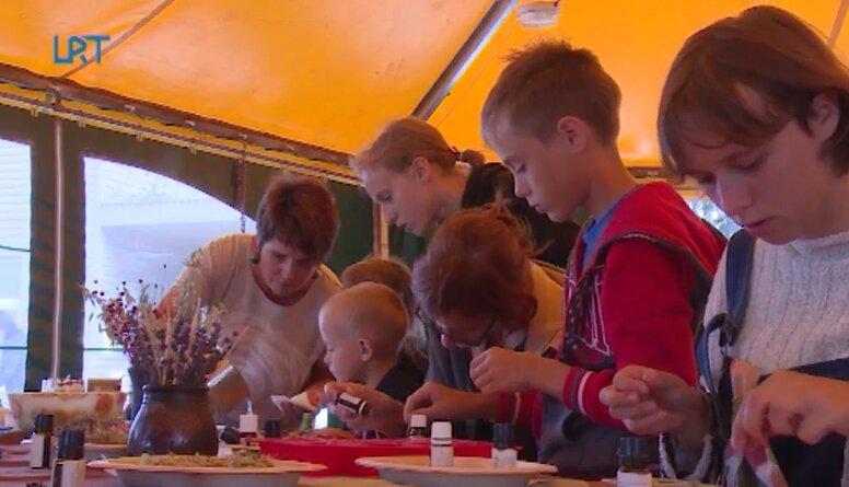 Aizvadīta nometne ģimenēm ar bērniem